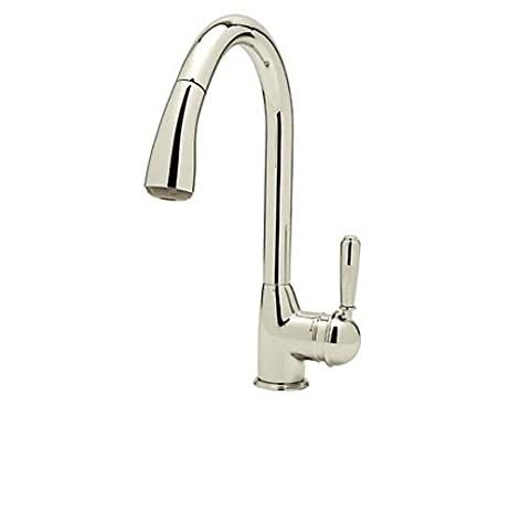 Superb Rohl R7504LMPN 2 Classic Kitchen Faucet With Pull Out Spray And Metal Lever  Handle, Good Looking