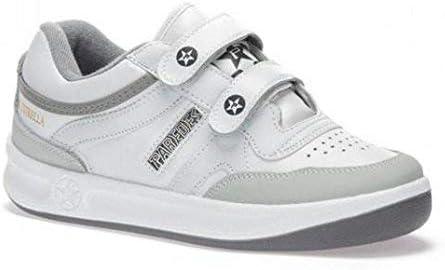 Paredes Velcro Blanco Deportivo Estrella trabajo, comodidad, plantilla momery foam, seguridad, cordones, 42