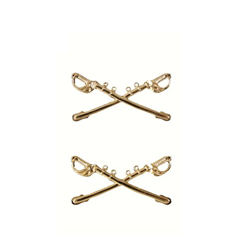 Rothco Officer's Cavalry Pin, Gold