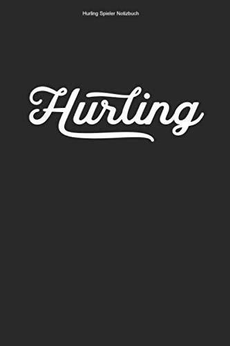 Hurling Spieler Notizbuch: 100 Seiten   Kariert   Sliotar Irisch Team Hurl Trainer Geschenk Fußball Irland Gälisch Ire Hurler Fan