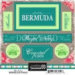 Scrapbook Customs - World Collection - Bermuda - Cardstock Stickers - Bon ()