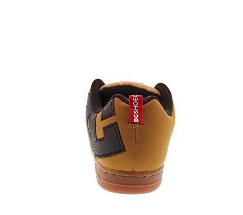 Marrone Graffik SE Black Black Red Court DC xY8qawf5c