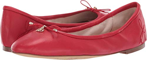 Sam Edelman Women's Felicia Candy Red North Leather 7.5 W US