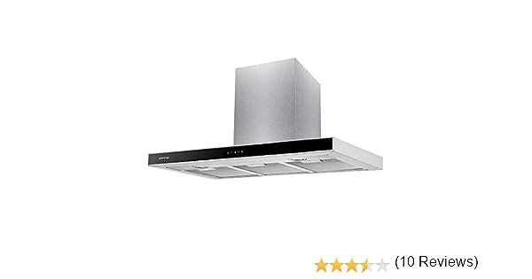 CAMPANA EXTRACCION INFINITON (800m³/hC de extraccion, Campana T Invertida, Luces LED, 3 Niveles de potencia, Filtro de alumio + Filtro de carbón, 63dB) (60 CM REMOTO): Amazon.es: Grandes electrodomésticos