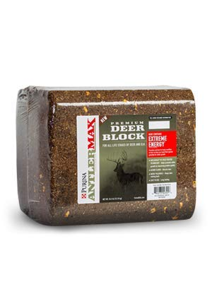 Purina AntlerMax Deer Feed Block, 33 lb Block