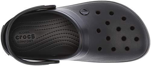 negro Zuecos Clog Platform Unisex Crocs Negro Adulto U Crocband UIwgCnxnq8