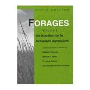Forages  Introduction To Grassland Agriculture
