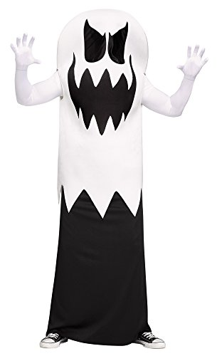 White Floating Ghost Adult Costume - Floating Man Costume