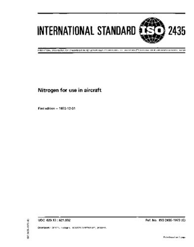 ISO 2435:1973, Nitrogen for use in aircraft pdf