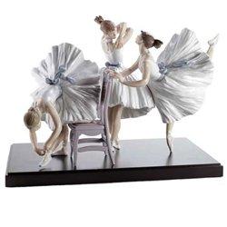 (Lladro Porcelain Figurine Backstage Ballet Limited Edition)