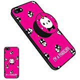Panda Case with Kickstand for iPhone 5/5s/SE , Unique Protective Soft TPU Case Anti-Scratch Shockproof Rugged Protection Cover for iPhone 5/5s/SE - Panda6