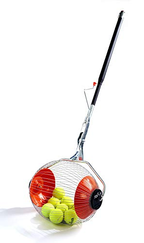 Kollectaball K-Max 60 Ball Collector Max | Ball Picker Upper for Tennis, Pickleball or Padel | Holds 60 Tennis Balls or Pickleball Balls