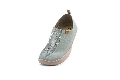 Uin Mens Slip-on Shoe Slip-on Shoe Grigio-verde