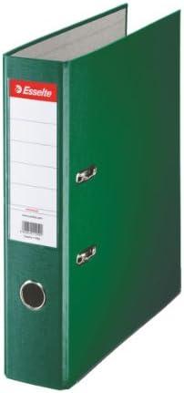 A4 11234 Plastic Cover 7.5 cm Spine Esselte Essentials Lever Arch File Orange
