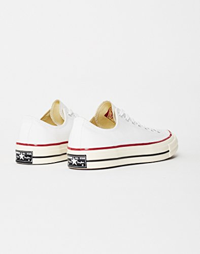 Chuck Canvas Taylor 70 CTAS Zapatillas Blanco Ox Red White Converse de 110 Unisex Black Deporte Adulto 4dcARq