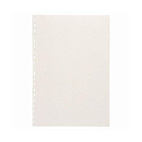 生活日用品 (まとめ買い) コームリング製本カバー ハード ホワイト TC-51W 1パック(5枚) 【×10セット】 B074JSCGPY