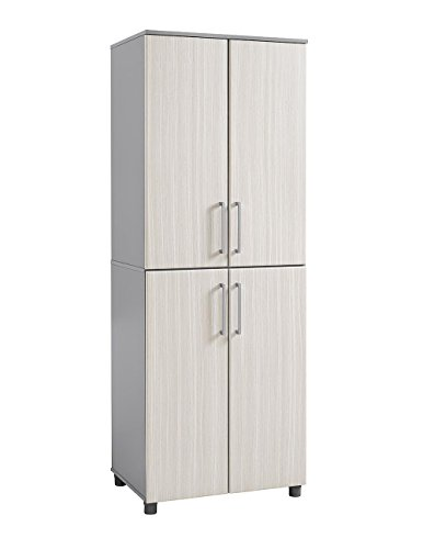 SystemBuild 7470411COM Latitude Tall Cabinet, Natural