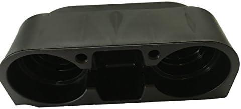 Multifunktions Getr/änkehalter Flaschenhalter M/ünzbox Aufbewahrungsbox zwischen Mittelkonsole und Sitz f/ür Auto PKW KFZ