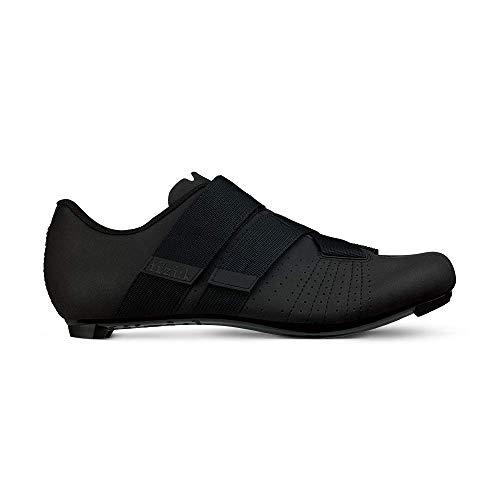 Fizik Tempo R5 Powerstrap Cycling Shoe, Black/ - 44, Black/Black