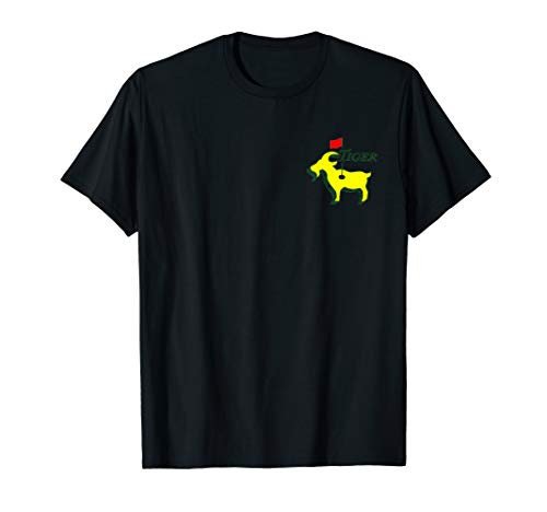 Funny Masters Goat T-Shirt Tiger