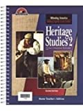 Heritage Studies 2 Home Teacher's Edition, , 1579241697