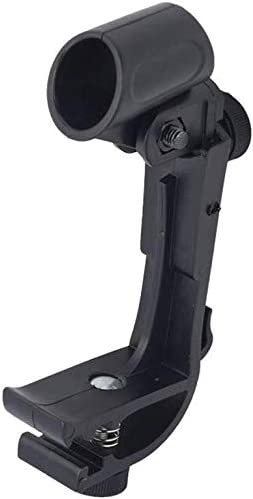 1Pair Port/átil Ajustable en Altura Micr/ófono Tambor Soporte para Sujeci/ón un Micr/ófono de Mano con un Di/ámetro de 18-28 1 Par Free Size Tambor Micr/ófono Pinza