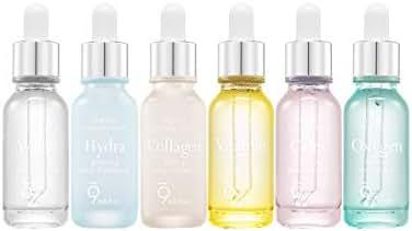 9 wishes Perfect Ampule Serum (Set) -White,Collagen,Hydra,Calm,Vitamin,Oxygen