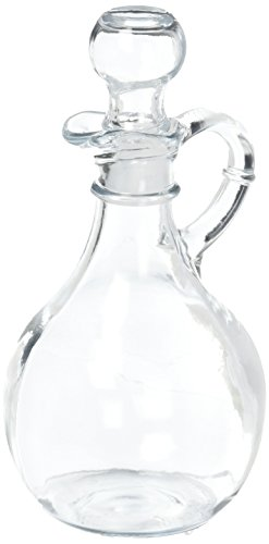 Anchor Hocking 980R Presence Cruet With Stopper (Glass And Set Vinegar Oil)
