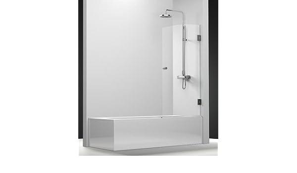 pare-bain giratoria Chloe con vidrio transparente de 6 mm: Amazon.es: Bricolaje y herramientas