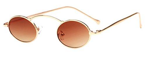 sol Polaroid redondas Color5 ultravioleta Sunglasses Tide Fashion HD de Unisex Gafas anti JYR Gafas AXqFE1