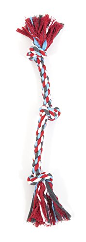 Aspen/Booda Corporation DBX50807 3-Knot Rope Tug Dog Chew Toy, X-Large ()