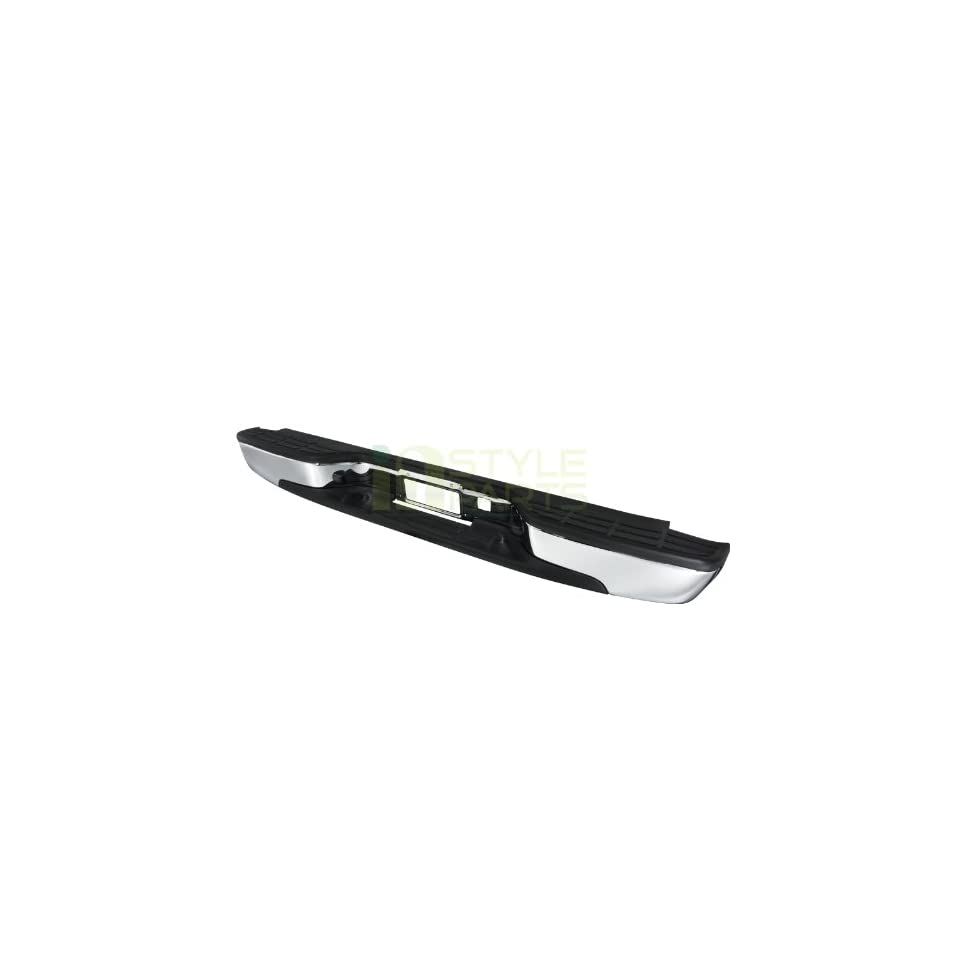 1999 2000 2001 2002 2003 2004 2005 2006 Chevy Silverado Rear Bumper Step Chrome   Fits Fleetside