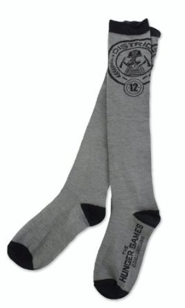 Neca Men's Hunger Games District 12 Socks Multicoloured One Size