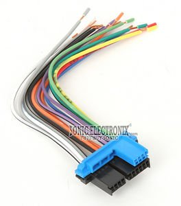 Metra 71-1858 Reverse Wiring Harness for Select 1987-2005 GM ()