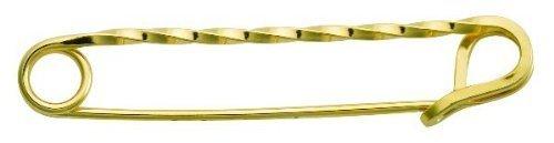 Perri & 039;s Gold Twisted Lager Pin, vergoldet, Einheitsgröße von Perri & 039;s