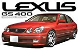 Aoshima #56 Lexus GS400 '98 Left Hand Drive 1/24 Model Kit