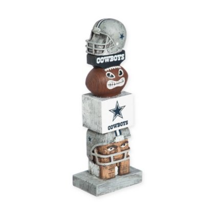 Team Sports America NFL Dallas Cowboys Tiki Totem