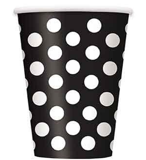Black Dots Cup 6ct [Contains 5 Manufacturer Retail Unit(s) Per Amazon Combined Package Sales Unit] - SKU# 37456