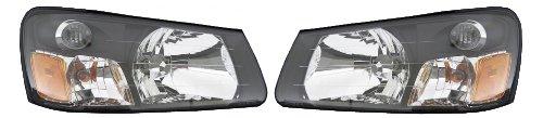 For Subaru Forester 03 04 Head Light Lamp With Bulb Pair 84001Sa020 , 84001Sas030 ()