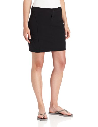 Columbia Women's Just Right Skort, Water & Stain Resistant, Black, 12