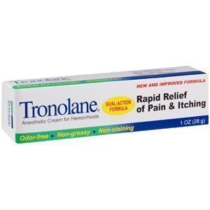 Monticello Drug Tronolane  Anesthetic Cream for Hemorrhoids, 1 oz Amino Genesis Gone In Sixty Seconds Instant Wrinkle Eraser
