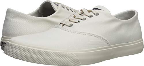 SPERRY Women's Captains CVO Sneaker, White, 8.5 Medium US
