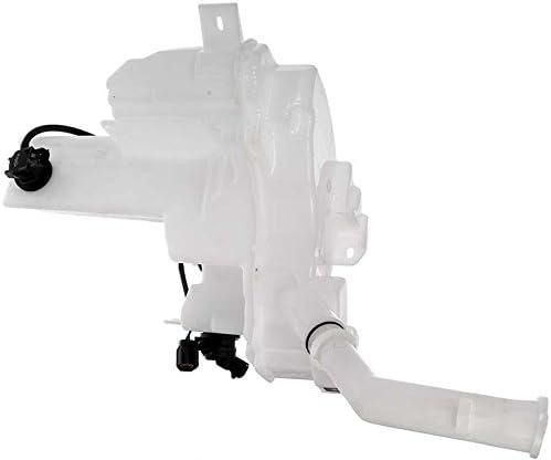 Apdty 714173 Windshield Wiper Washer Fluid Reservoir Bottle Housing W/Cap Fits Select 2004-2013 Mazda 3 2006-2014 Mazda 5 (Replaces Bn8F67480C, Bn8F67481A, Bp4K67483A)