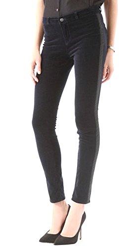 J BRAND Womens Velvet Tuxedo Stripe Skinny KATHERINE Pant Sz 24 Black 50456DH by J Brand Jeans