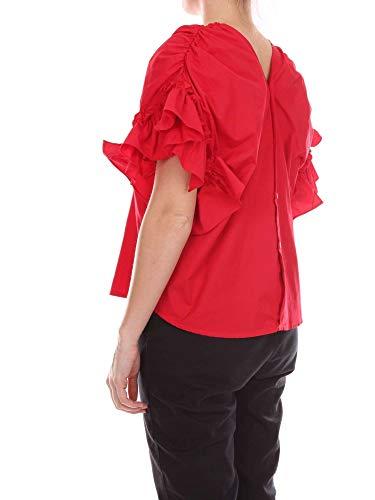 Algodon Tpn Blouse Rojo 8pzzspblmccored Mujer wAqSB1Rp
