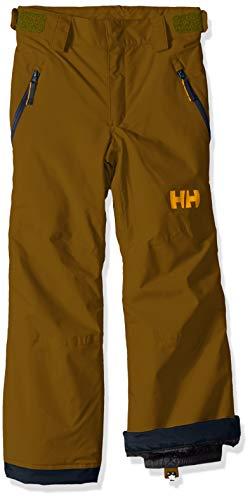 (Helly Hansen Jr Waterproof Legendary Snow & Ski Pant, Fir Green, Size 14)