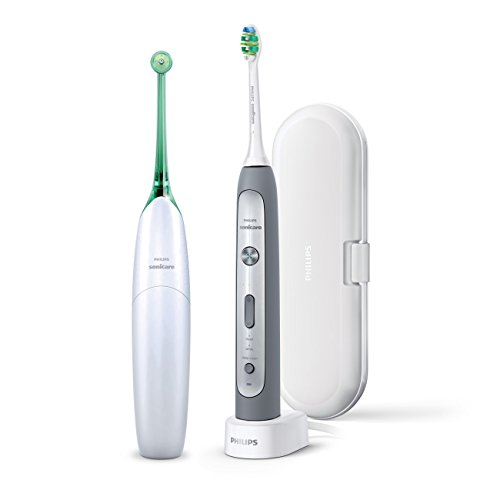 Philips Sonicare Flexcare Platinum Rechargeable Toothbrush and Philips Sonicare AirFloss Duo Pack