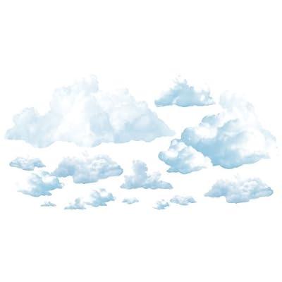 Beistle 52067 Printed Cloud Props, 3.75