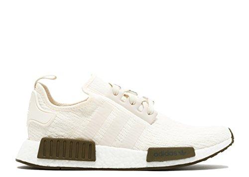 Adidas Heren Nmd_r1 Sneaker Krijtwit / Krijtwit / Trace Olive