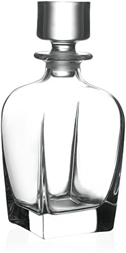 Circleware 10115 Monarch Elegant Liquor Scotch Brandy Bourbon Wine Whiskey Pitcher, 709ml, Monarchclear ()